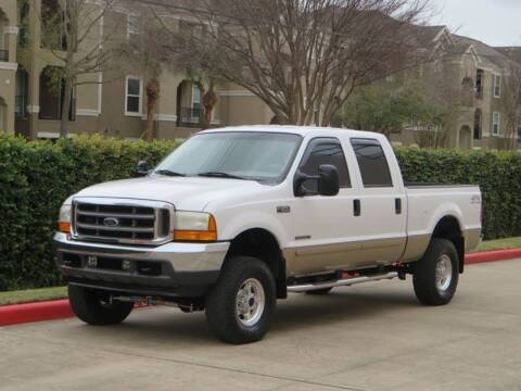 2001 Ford F-250 Super Duty for sale at RBP Automotive Inc. in Houston TX