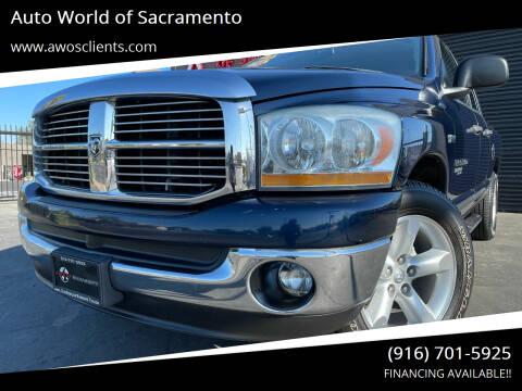 2006 Dodge Ram Pickup 1500 for sale at Auto World of Sacramento Stockton Blvd in Sacramento CA