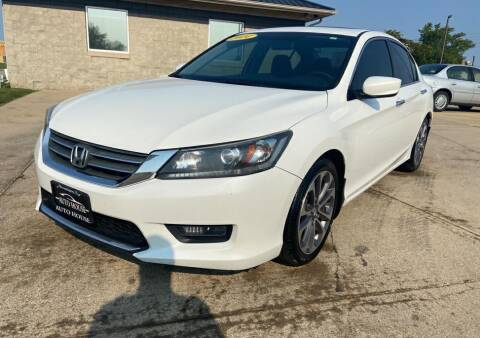 2014 Honda Accord for sale at Auto House of Bloomington in Bloomington IL