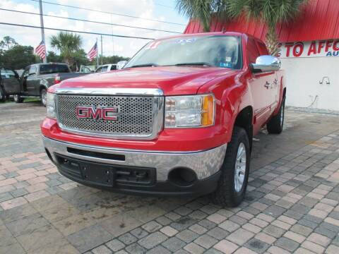 2011 GMC Sierra 1500 for sale at Affordable Auto Motors in Jacksonville FL