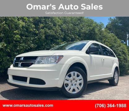2018 Dodge Journey for sale at Omar's Auto Sales in Martinez GA
