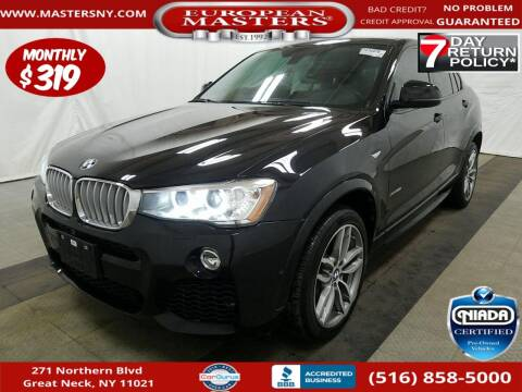 2018 BMW X4 for sale at European Masters in Great Neck NY