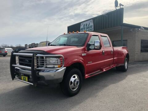 2003 Ford F-350 Super Duty for sale at B & J Auto Sales in Auburn KY
