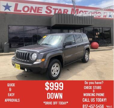 2016 Jeep Patriot for sale at LONE STAR MOTORS II in Fort Worth TX