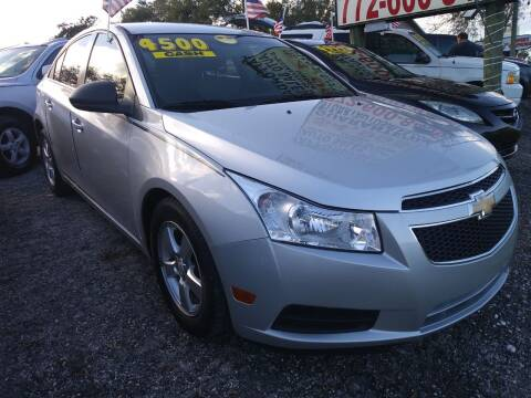 2012 Chevrolet Cruze for sale at AFFORDABLE AUTO SALES OF STUART in Stuart FL