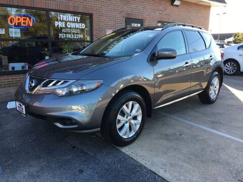 2014 Nissan Murano for sale at Bankruptcy Car Financing in Norfolk VA