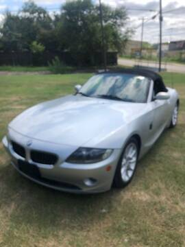 2005 BMW Z4 for sale at Carzready in San Antonio TX
