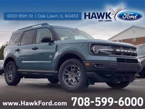 2021 Ford Bronco Sport for sale at Hawk Ford of St. Charles in St Charles IL