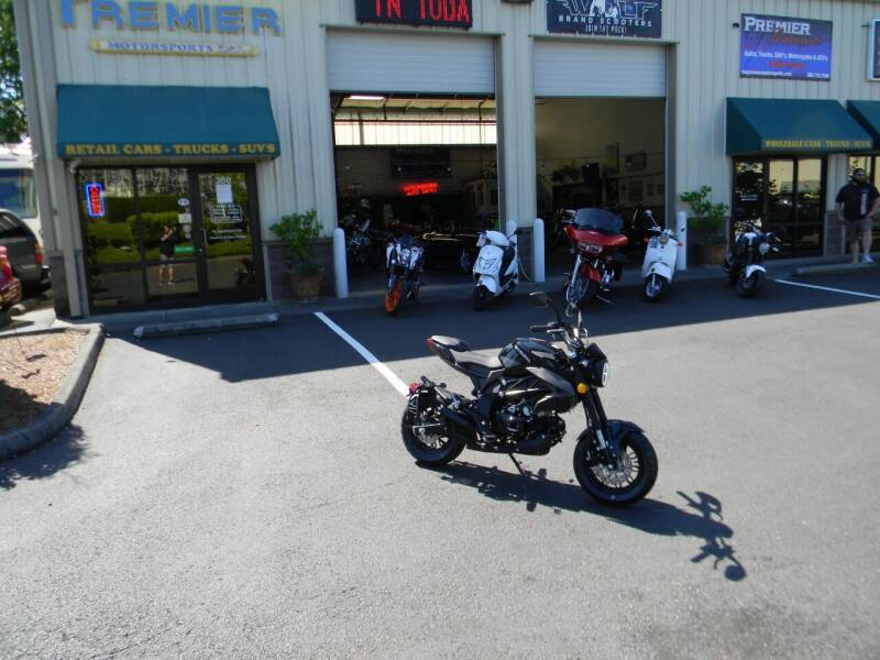 2020 Wolf brand Scooters Striker for sale at PREMIER MOTORSPORTS in Vancouver WA