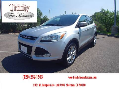 2013 Ford Escape for sale at TRINITY FINE MOTORCARS in Sheridan CO