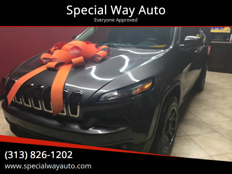 2014 Jeep Cherokee for sale at Special Way Auto in Hamtramck MI