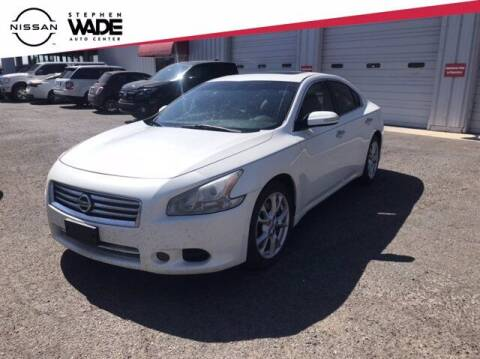 2014 Nissan Maxima for sale at Stephen Wade Pre-Owned Supercenter in Saint George UT
