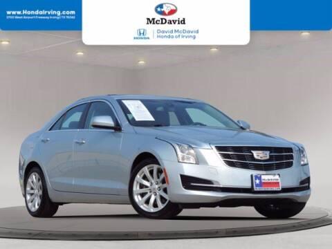 2017 Cadillac ATS for sale at DAVID McDAVID HONDA OF IRVING in Irving TX