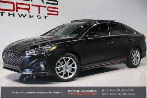 2019 Hyundai Sonata for sale at Fishers Imports in Fishers IN