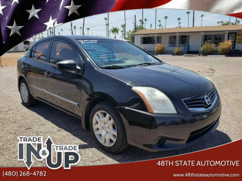 2010 Nissan Sentra for sale at 48TH STATE AUTOMOTIVE in Mesa AZ