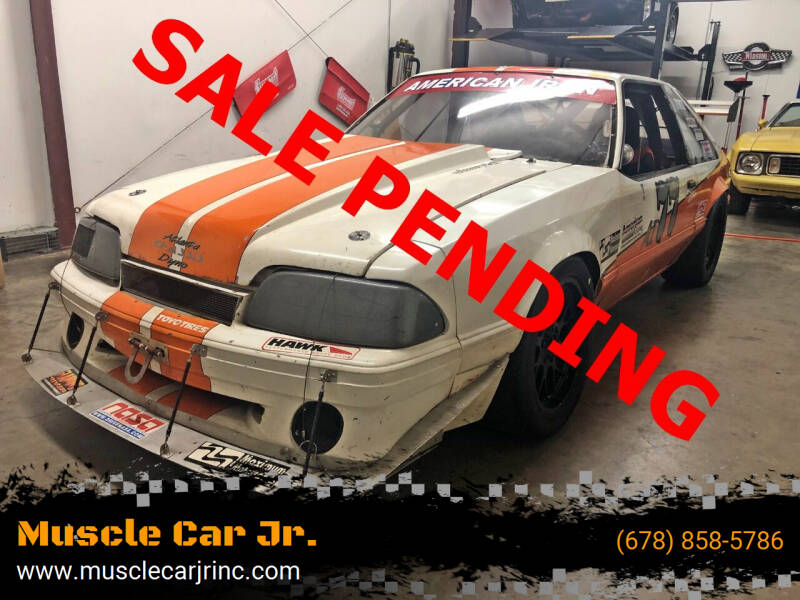 1988 Ford Mustang for sale at Muscle Car Jr. in Alpharetta GA