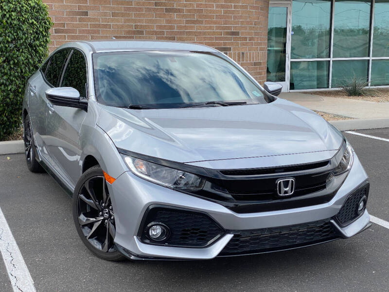 2018 Honda Civic for sale at AKOI Motors in Tempe AZ