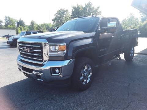 2015 GMC Sierra 2500HD for sale at Cruisin' Auto Sales in Madison IN
