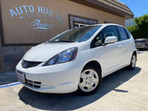 2013 Honda Fit for sale at Auto Hub, Inc. in Anaheim CA