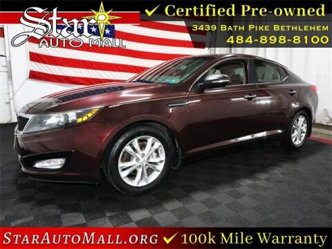 2013 Kia Optima for sale at STAR AUTO MALL 512 in Bethlehem PA