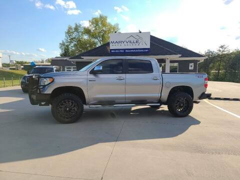 2014 Toyota Tundra for sale at Maryville Auto Sales in Maryville TN