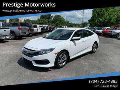 2018 Honda Civic for sale at Prestige Motorworks in Concord NC