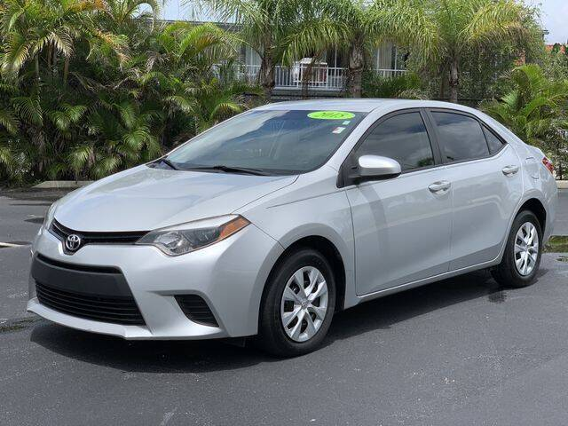 2015 Toyota Corolla for sale at BC Motors in West Palm Beach FL