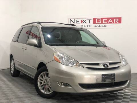 2007 Toyota Sienna for sale at Next Gear Auto Sales in Westfield IN