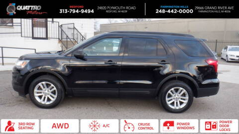 2017 Ford Explorer for sale at Quattro Motors 2 - 1 in Redford MI