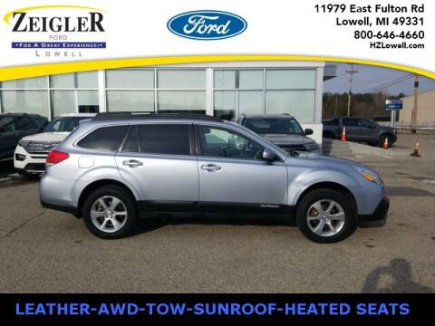 2014 Subaru Outback for sale at Zeigler Ford of Plainwell- michael davis in Plainwell MI