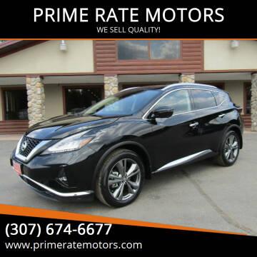 2020 Nissan Murano for sale at PRIME RATE MOTORS in Sheridan WY