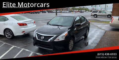 2018 Nissan Versa for sale at Elite Motorcars in Smyrna TN