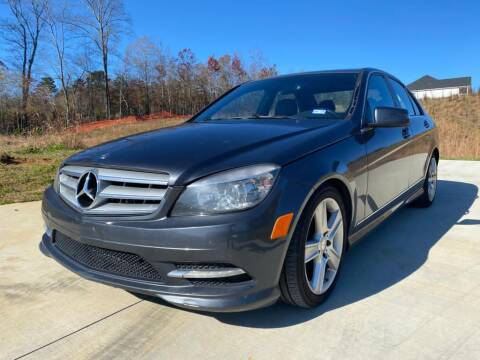 2011 Mercedes-Benz C-Class for sale at El Camino Auto Sales in Sugar Hill GA
