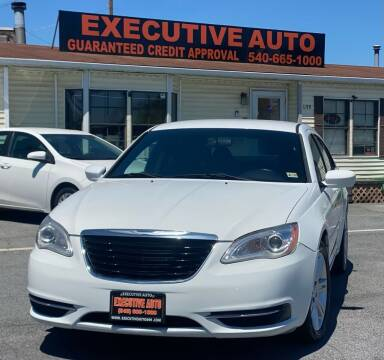 2013 Chrysler 200 for sale at Executive Auto in Winchester VA