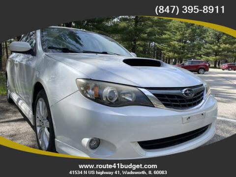 2008 Subaru Impreza for sale at Route 41 Budget Auto in Wadsworth IL