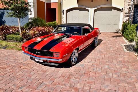 1969 Chevrolet Camaro for sale at Sunshine Classics, LLC in Boca Raton FL