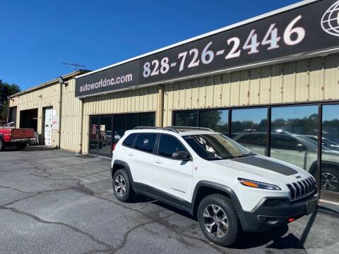 2015 Jeep Cherokee for sale at AutoWorld of Lenoir in Lenoir NC