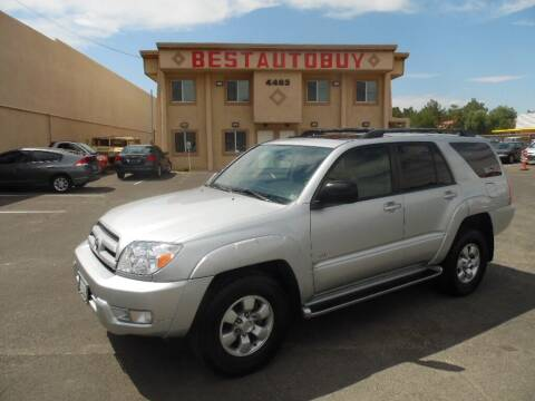 2003 Toyota 4Runner for sale at Best Auto Buy in Las Vegas NV