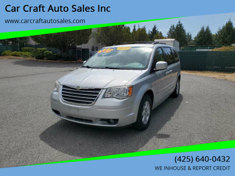 2010 Chrysler Town and Country for sale at Car Craft Auto Sales Inc in Lynnwood WA