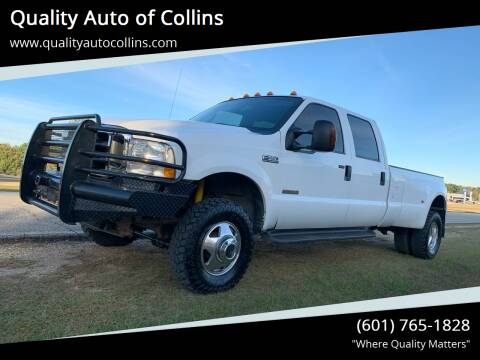 2004 Ford F-350 Super Duty for sale at Quality Auto of Collins in Collins MS