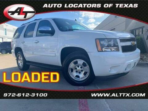 2012 Chevrolet Tahoe for sale at AUTO LOCATORS OF TEXAS in Plano TX