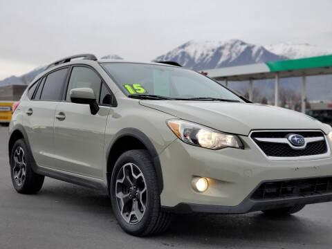 2015 Subaru XV Crosstrek for sale at FRESH TREAD AUTO LLC in Springville UT
