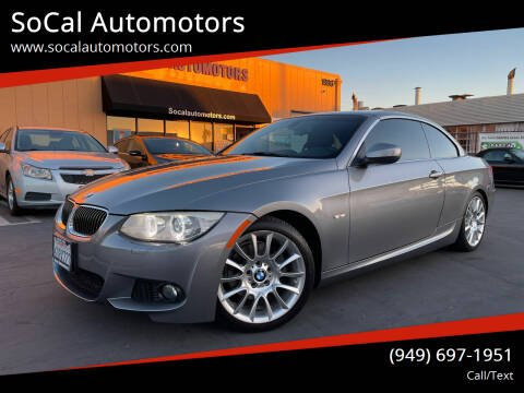 2012 BMW 3 Series for sale at SoCal Auto Motors in Costa Mesa CA