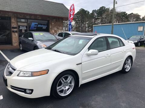 2007 Acura TL for sale at E Motors LLC in Anderson SC