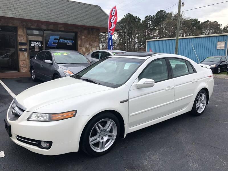 2007 Acura TL for sale at E Motors LLC in Anderson SC