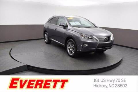 2015 Lexus RX 350 for sale at Everett Chevrolet Buick GMC in Hickory NC