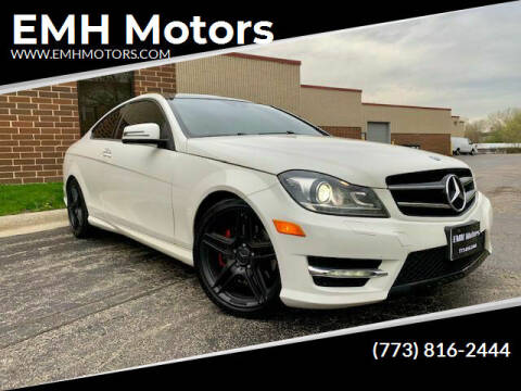 2012 Mercedes-Benz C-Class for sale at EMH Motors in Rolling Meadows IL