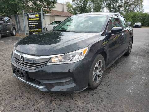 2017 Honda Accord for sale at MIDWEST CAR SEARCH in Fridley MN