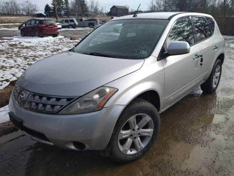 2006 Nissan Murano for sale at Seneca Motors, Inc. (Seneca PA) in Seneca PA