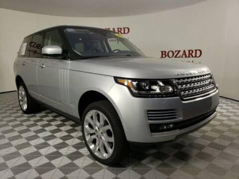 2017 Land Rover Range Rover for sale at BOZARD FORD in Saint Augustine FL